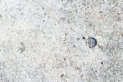 Muro de cemento agrietado Fotos de archivo libres de regalías