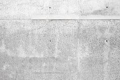 Muro de cemento al aire libre gris blanco Foto de archivo libre de regalías