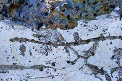 Muro de cemento colorido del fondo Fotos de archivo