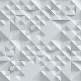 Muro de cemento con el modelo geométrico 3d