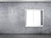 Muro de cemento con la ventana