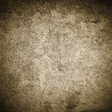 Muro de cemento del oro de Grunge Foto de archivo libre de regalías