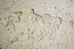 Muro de cemento en la calle con los modelos abstractos Imagen de archivo