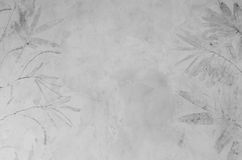 Muro de cemento gris, fondo abstracto de la textura Foto de archivo libre de regalías