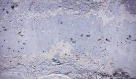 Muro de cemento gris de la bandera desigual vieja de la textura del fondo fotos de archivo libres de regalías