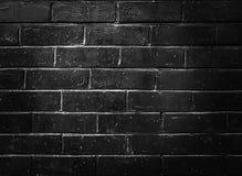 Muro de cemento negro, fondo del modelo del ladrillo con el proyector fotos de archivo