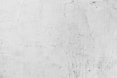 Muro de cemento pintado blanco con el modelo del yeso Imágenes de archivo libres de regalías