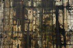 Muro de cemento resistido Imagen de archivo libre de regalías
