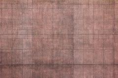 Muro de cemento rosado Imágenes de archivo libres de regalías