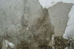 Muro de cemento sucio viejo de la textura Foto de archivo libre de regalías