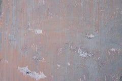 Muro de cemento viejo con las grietas Fotos de archivo libres de regalías