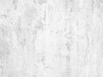 Muro de cimento branco Imagens de Stock Royalty Free