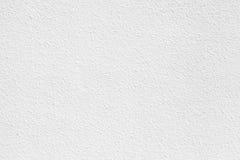 Muro de cimento branco com emplastro Textura do fundo foto de stock royalty free