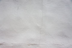 Muro de cimento branco da pintura Foto de Stock Royalty Free
