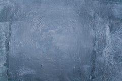 Muro de cimento cinzento áspero da textura Imagens de Stock