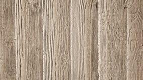 Muro de cimento cinzento com o relevo de madeira que grava Imagens de Stock