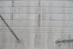 Muro de cimento com linhas horizontais Imagem de Stock