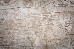 Muro de cimento de Brown Imagens de Stock Royalty Free