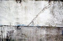Muro de cimento de Grunge Fotografia de Stock