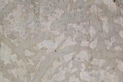 Muro de cimento decorativo Fotografia de Stock