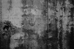Muro de cimento desencapado sujo e liso Fotos de Stock