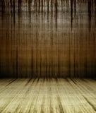 muro de cimento do grunge 3d com manchas Imagens de Stock