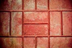 muro de cimento do tijolo Fotografia de Stock