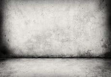 Muro de cimento e assoalho fotografia de stock royalty free