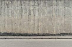 Muro de cimento e assoalho imagens de stock