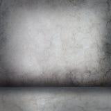 Muro de cimento e assoalho cinzentos imagem de stock royalty free
