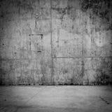 Muro de cimento e assoalho sujos como o fundo fotografia de stock