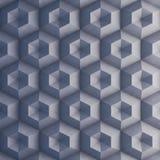 Muro de cimento poligonal como o fundo Foto de Stock Royalty Free