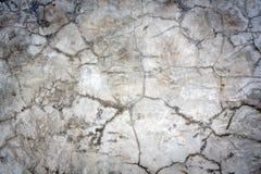 Muro de cimento quebrado Fotografia de Stock