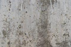 Muro de cimento resistido imagens de stock royalty free
