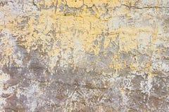 Muro de cimento resistido Foto de Stock