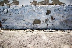 Muro de cimento velho Fotos de Stock