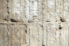 Muro de cimento velho imagens de stock