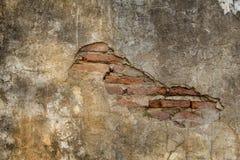 Muro de cimento velho, Imagens de Stock Royalty Free