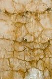Muro de cimento velho do vintage com a textura do detalhe arruinada dos elementos Abandono, superfície da parede da quebra Foto de Stock