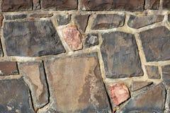 Muro de contención de la roca Imágenes de archivo libres de regalías
