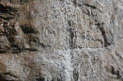 Muro di acqua su una cascata Fotografia Stock Libera da Diritti