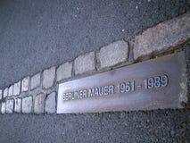 Muro di Berlino Immagini Stock