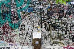 Muro di Berlino Fotografie Stock Libere da Diritti