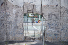 Muro di Berlino Immagine Stock Libera da Diritti