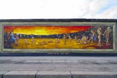 Muro di Berlino, Germania Immagini Stock