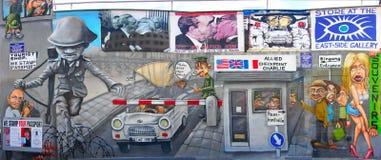 Muro di Berlino, Germania fotografie stock