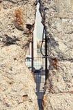 Muro di Berlino tagliato Fotografie Stock