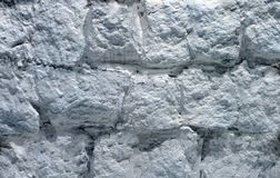 Muro di cemento argenteo di vecchia costruzione immagine stock libera da diritti