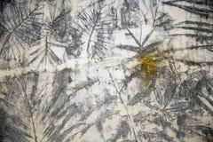 Muro di cemento bagnato Fotografie Stock