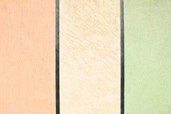 Muro di cemento colorato Immagini Stock